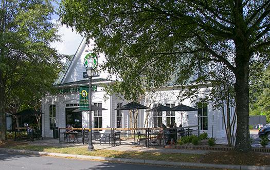 Starbucks at Baxter Town Center
